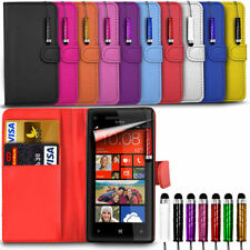 Sony Xperia X - Leather Wallet Card Slot Case Cover & Mini Stylus