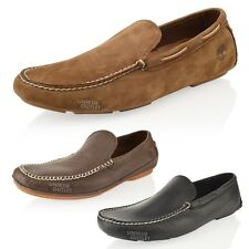 MENS TIMBERLAND DRIVING LOAFERS SLIP ON CASUAL SHOES SIZE