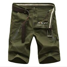 Outdoor mens Leisure pockets overalls shorts pants cargo trousers Plus Size30-48