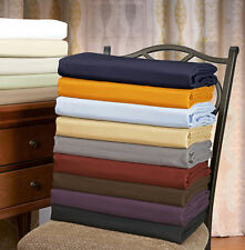 Solid Duvet Cover Set With Shams, Wrinkle Free Microfiber, 12 Colors
