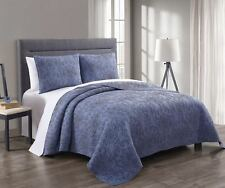 3-piece Simmon Coverlet/Bedspread Set 100% Cotton Quilt