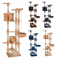 "80"" Cat Tree Condo Furniture Scratching Post Pet Cat Kitten House 4 Colors"