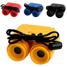 Foldable 2.5 x 26 Mini Children Magnification Binoculars Observing Telescope Toy
