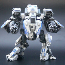 StarCraft A2 Viking Armored Mechanical Hybrid Assault Mode Statue Figure Blue