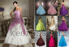 STOCK New Formal Gown Prom Party Ball Bridesmaid Wedding Evening Dress Size 6-20