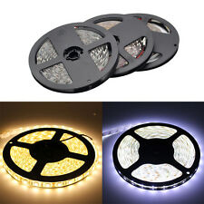 5M Waterproof LED Strip Light Cool/Warm White 300LEDs DC12V Car Party Decoration