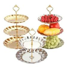 Tier Stainless steel Round Cupcake Stand Wedding Birthday Cake Display Tower