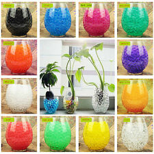Colorful Water Plant Flower Jelly Beads Crystal Soil Mud Hydro Gel Pearls Balls