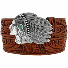 Tony Lama Indian Chieftain Belt C51164