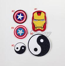 Cartoon Embroidered Motif Applique Iron On Sewing Patch Clothes DIY Accessories
