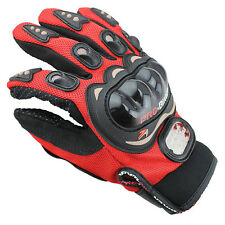 Motorcycle Pro Biker Racing Cycling Motocross Bike Full Finger Gloves M L XL XXL
