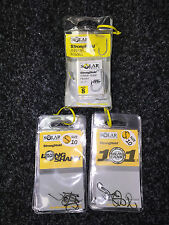 Solar stronghold Hooks, Longshank, 101s, and x wide gape. Free Postage