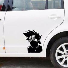 Cartoon Kakashi Hatake Side Door Random Body Windows Wall Decals Car Stickers