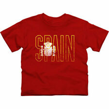Spain Youth Flag T-Shirt - Red