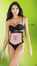 Fajas Colombianas Diane 2366/2367 Women's invisible body Panty/Thong With Latex