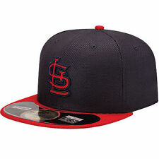 New Era St. Louis Cardinals Navy/Red On Field Diamond Era 59FIFTY Fitted Hat