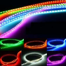 Waterproof 12V 30/60/90/120cm 3528 SMD LED Car Motor Neon Strip Light Flexible