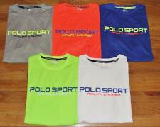 NEW NWT Mens POLO SPORT Ralph Lauren Performance Tee T-Shirt Thermovent Dry *2U