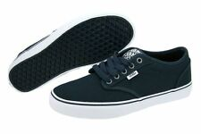 VANS ATWOOD VN000KC44K1 Navy White CANVAS SUEDE SKATE BOAT SHOES UNISEX