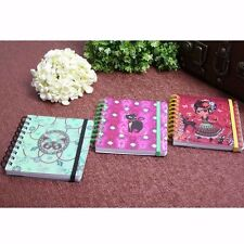 Spiral Coil Pocket Notebook Bind Diary Journal Student Note Pad Book Memo 36K