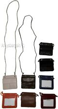 New Adjustable String Travel Neck Pouch Wallet ID Credit Card Money Holder bnwt