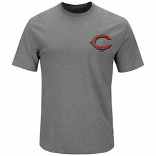 Majestic Cincinnati Reds Gray Not Without Struggle T-Shirt