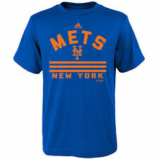 adidas New York Mets Youth Royal Our Property T-Shirt