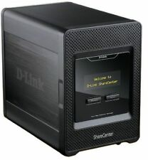D-LINK DNS-345 ShareCenter Cloud Network Storage 4-Bay SATA HDD RAID NAS USB LAN
