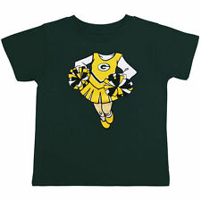 Green Bay Packers Girls Infant Green Cheerleader Dreams T-Shirt