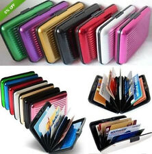 Waterproof Business ID Credit Card Wallet Holder Aluminum Metal Pocket Case Sale