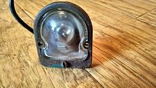 Vintage 1949/1950/1951 Ford Mercury Rear Bumper License Plate Light and Lens