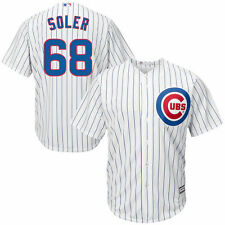 Jorge Soler Chicago Cubs Youth White Official Cool Base Player Jersey