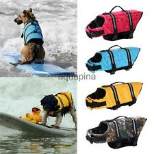 Dog Pet Reflective Preserver Safety Float Vest Saver Life Jacket Swim Clothes