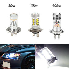 H1 H3 H4 H7 H8 H11 9006 CREE LED 30w 80w 100w Fog Tail Turn Bulb Headlight Lamps