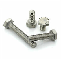 304 SS M8 Hexagon Cap Bolts Hex Head Screws M8 *12/16/20/25/30/40/50/60/70/-150