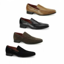 Shuperb RUNU KR2 Mens Slip On Faux Leather/Suede Fashion Formal Loafers