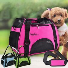Pet Carrier Soft Puppy Cat  Dog Comfort Travel Tote Bag Airline Approved Small