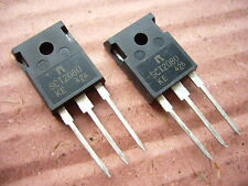 ROHM SCT2080KE N-channel SiC Power MOSFET, 1200V, 40A. Case style TO-247 (2 off)