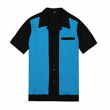 50s male clothing rockabilly style fashion indie mens fifties bowling shirts