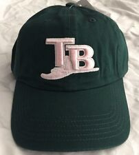Tampa Bay Rays  Women's  Green and Pink Rays Logo Slouch Hat - NEW