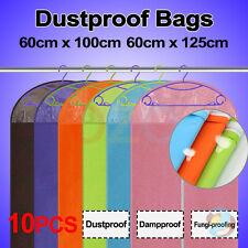10X Garment Storage Suit Bag Dress Cover Clothe Protector Coat  Bags Dustproof
