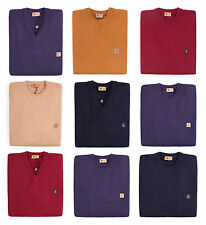 Gabicci Vintage Mens Plainknit Lambswool Blend Jumper