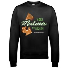 9343 Merlotte's Bar Sweatshirt True Blood Fangtasia Grill Life Begins At Night