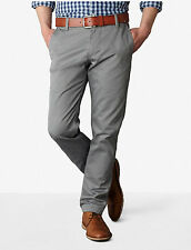 Dockers Alpha Stretch Khaki Slim Fit Tapered Leg Men's Grey Pants NWT