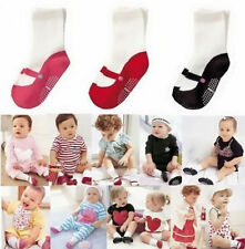 Anti Slip Cotton Knee Socks Clothing Baby Toddler  Shoes Boots 3 Colors