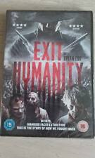 Exit Humanity (DVD, 2012).Horror. Rating 15....NEW AND SEALED