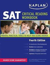 Kaplan SAT Critical Reading Workbook 2011 Paperback Test Prep
