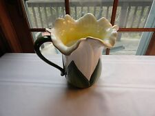 VINTAGE DAFFODIL PITCHER BY AMBIANCE - EXCELLENT CONDITION