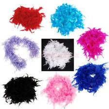 6.6 FEET FEATHER BOA FLUFFY CRAFT DECORATION PARTY COSTUME DRESS UP PROP