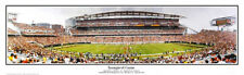 Cincinnati Bengals Inaugural Game Paul Brown Stadium 2000 Panoramic Poster 1010